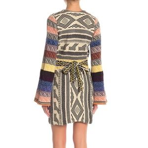 Free People Dresses - Free People Patchwork Sweater Dress